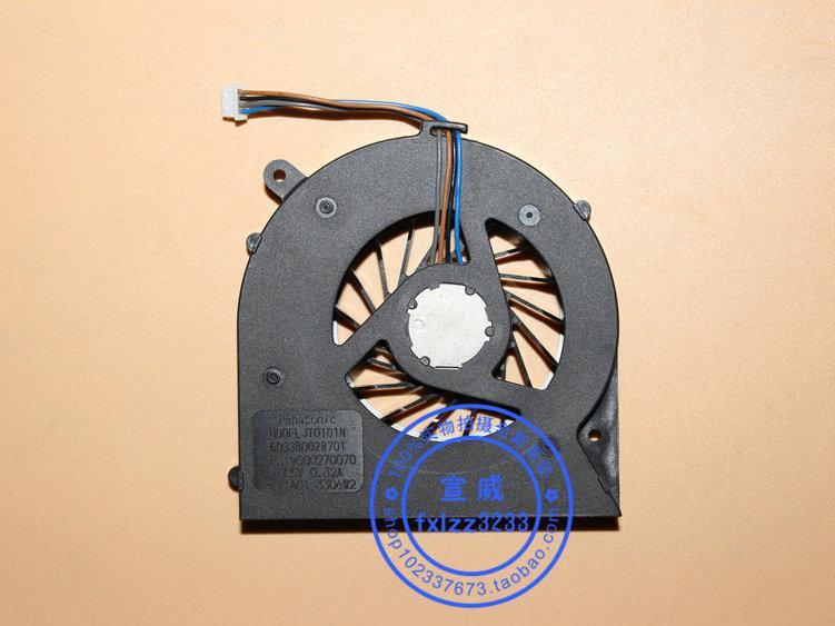 Nuevo ventilador de refrigeración original del ordenador portátil para Toshiba C850 T03B -T05B L850 UDQFLJT01D1N DC5V 0.32A