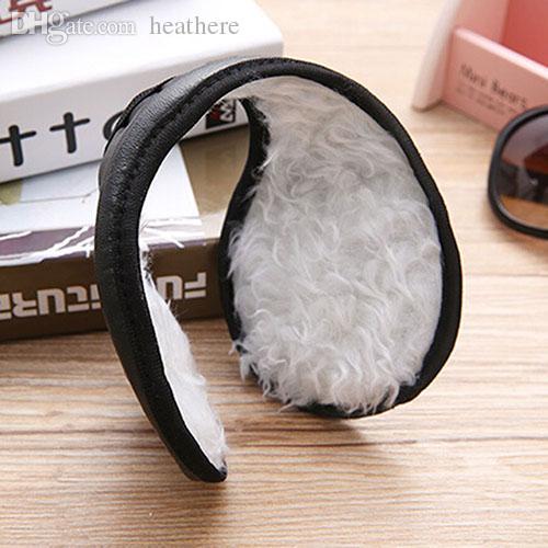 Wholesale-Hotsale Men' Women's Ear Muffs Winter Ear Warmers Plush  Behind The Head Band 7IUK