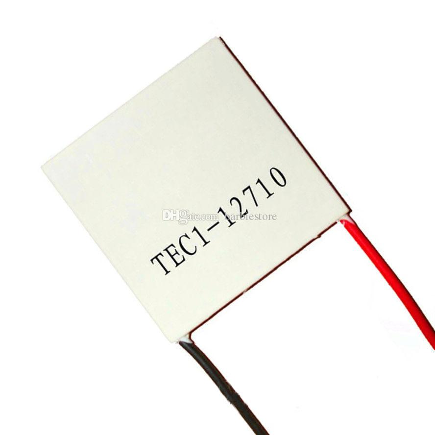 CNBTR 20mm x 20mm White TES1-4902 Semiconductor 6V 2A Tablet Cooling Chip Peltier