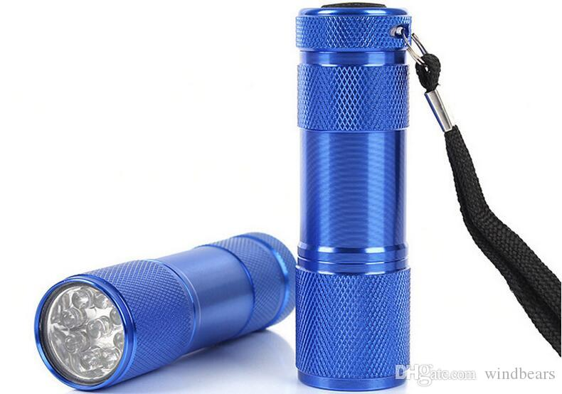 Details about  /9LED Camouflage Torch 9cm Compact Pocket Size New Camping-Festivals-DIY-Walking
