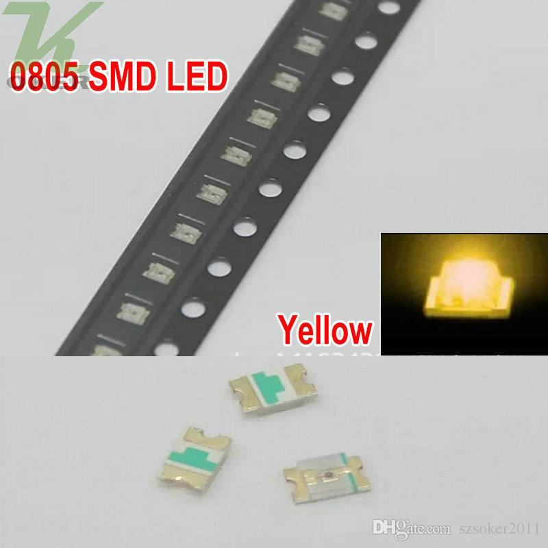 Red white blue green Yellow 0805 SMD LED diodes light smd leds