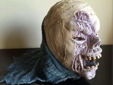 malformation tropia Mummy Dead walker masks Haunted house film party decoration horror zombie masks for halloween decoration