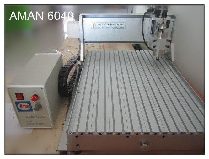 2019 Hot Sale 6040 Ch80 800w Soft Metals Plastics Woodworking Cnc Mini Engraving Machine Aman Hot Sale Mini Cnc Router From Anna0604 Price