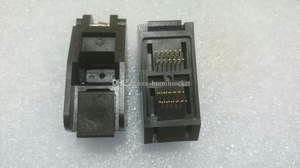 YAMAICHI SSOP24PIN IC TEST SOCKET IC51-0242-761 0.65mm SOPKET PITCH BURN