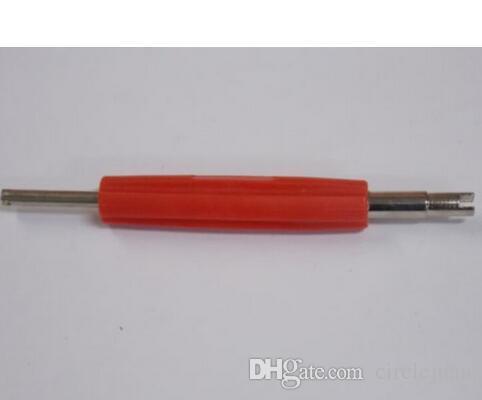 (50 pezzi / lotto) Strumento di rimozione / installazione nucleo 2 vie a / c R134a / R12 strumento a foro grande / piccolo