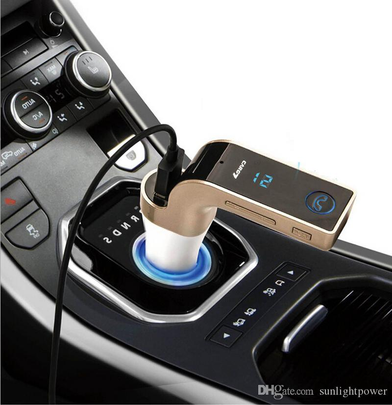 FM Transmitter Multifunction 4-in-1 CAR Bluetooth with USB MP3 Player flash drives TF Radio Transmitter with LCD Display USB Mic