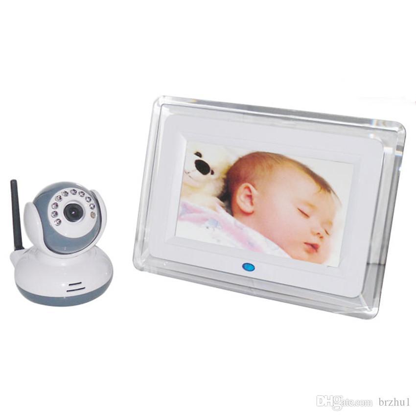 Monitor per bambini Night Vision IR da 7 pollici Wireless Intercom