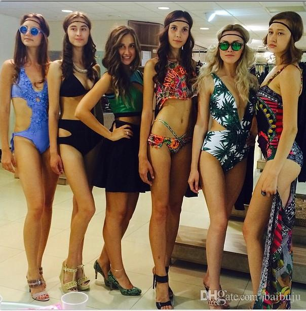 11d232abb82 2019 Wholesale 2016 Fashion Lady Sexy Bikini One Piece Bikini Suit Sexy  Summer Swimwear For Women From Baibuju