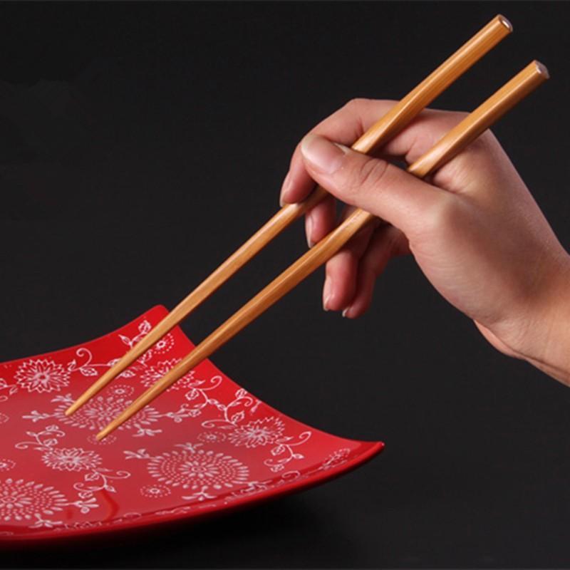 Yemek Bambu Çubuklarını Lenght 24 cm Mutfak Bar Sofra Bam Boo Ahşap Pirzola Sticks