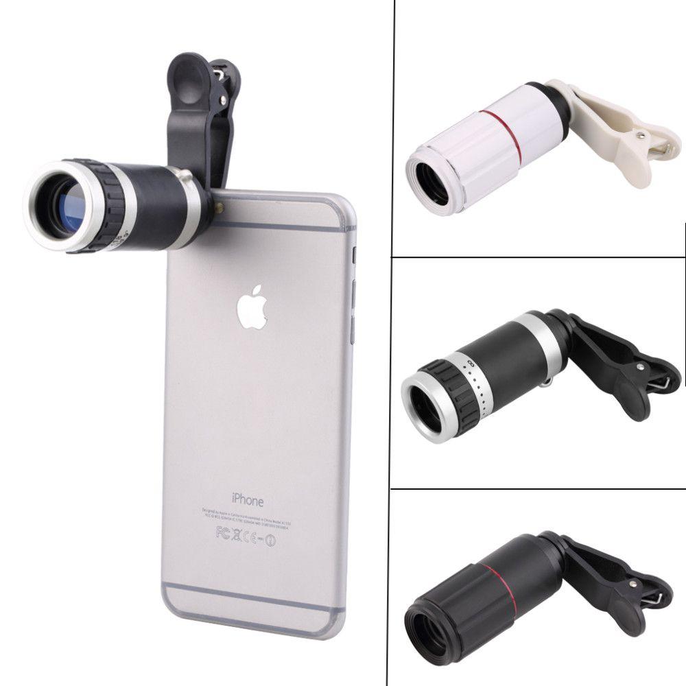 niversal 8-18x 줌 광학 휴대 전화 망원경 망원 카메라 렌 + 클립 프로모션