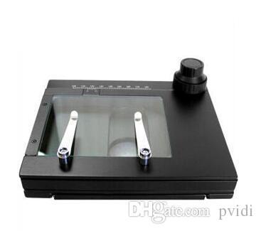 Piattaforma mobile PT-75 XY, tavoletta di traslazione manuale, tavolo ottico, escursione: 75mm x 56mm