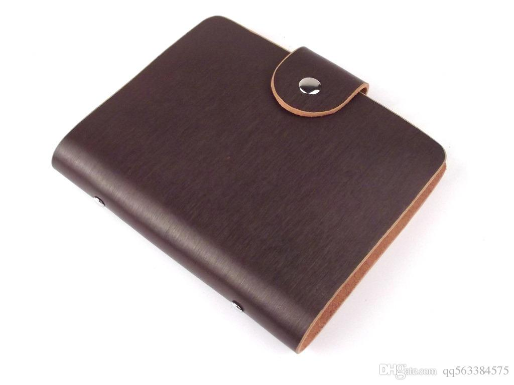 Manufacturers wholesale high-grade leather business card book Custom ...