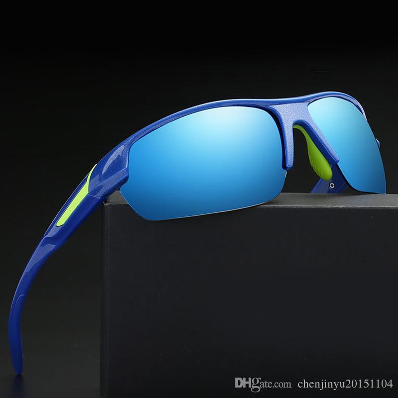 ALOZ MICC Marca Hombres Calientes Mujeres Polarizadas Ciclismo Al Aire Libre Gafas Deporte UV400 Gafas de Sol Bicicleta Tácticas Gafas Militares A285