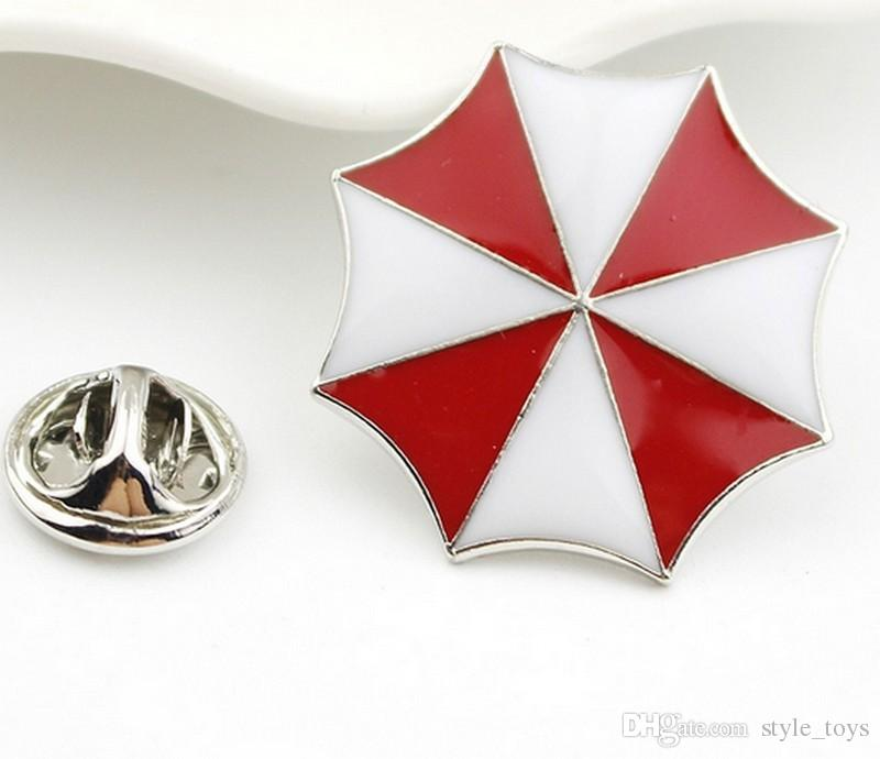 2018 Resident Evil Umbrella Corporation Embroidered Logo Metal Badge
