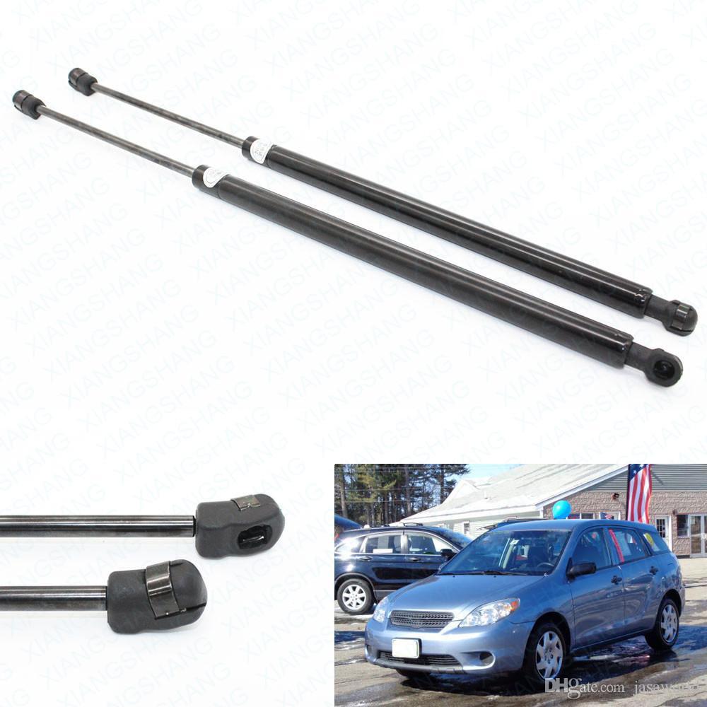 2 pçs / set carro hatch elevador da bagageira suporta amortecedores de suportes de gás para toyota matriz 2003 2004 2005 2006 2007-2008