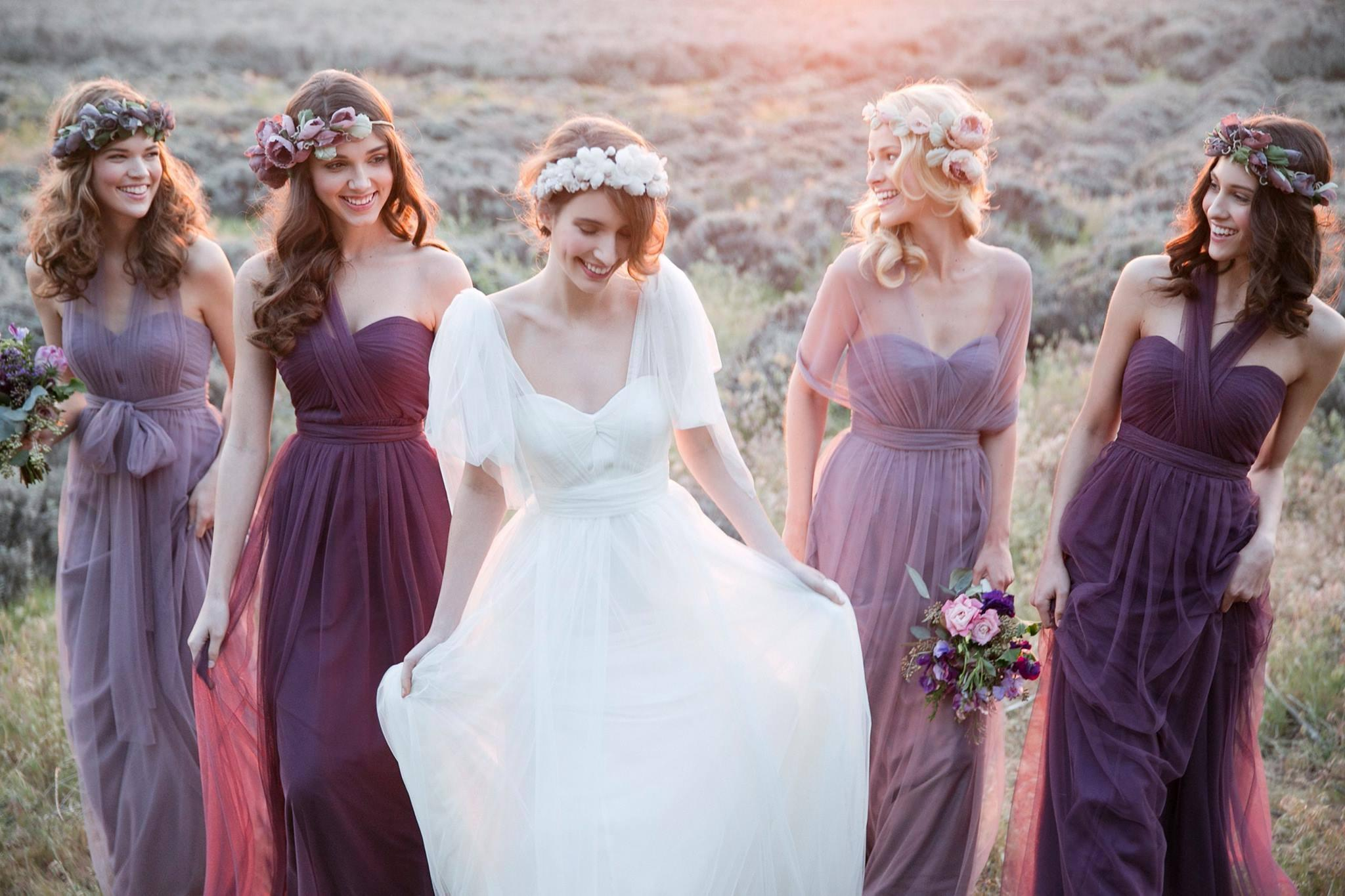 usa cheap sale retail prices shop for luxury Soft Tulle Convertible Bridesmaid Dress Lace Up 2018 Floor Length Formal  Dress Custom Made Drop Shipping Unique Bridesmaid Dresses Brides Maid  Dresses ...