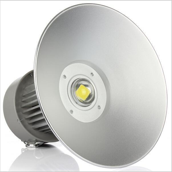 슈퍼 밝은 50W 100W 150W 200W 주도 높은 베이 빛 창고 주차장 램프 산업용 조명 높은 전원 홍수 빛을 주도