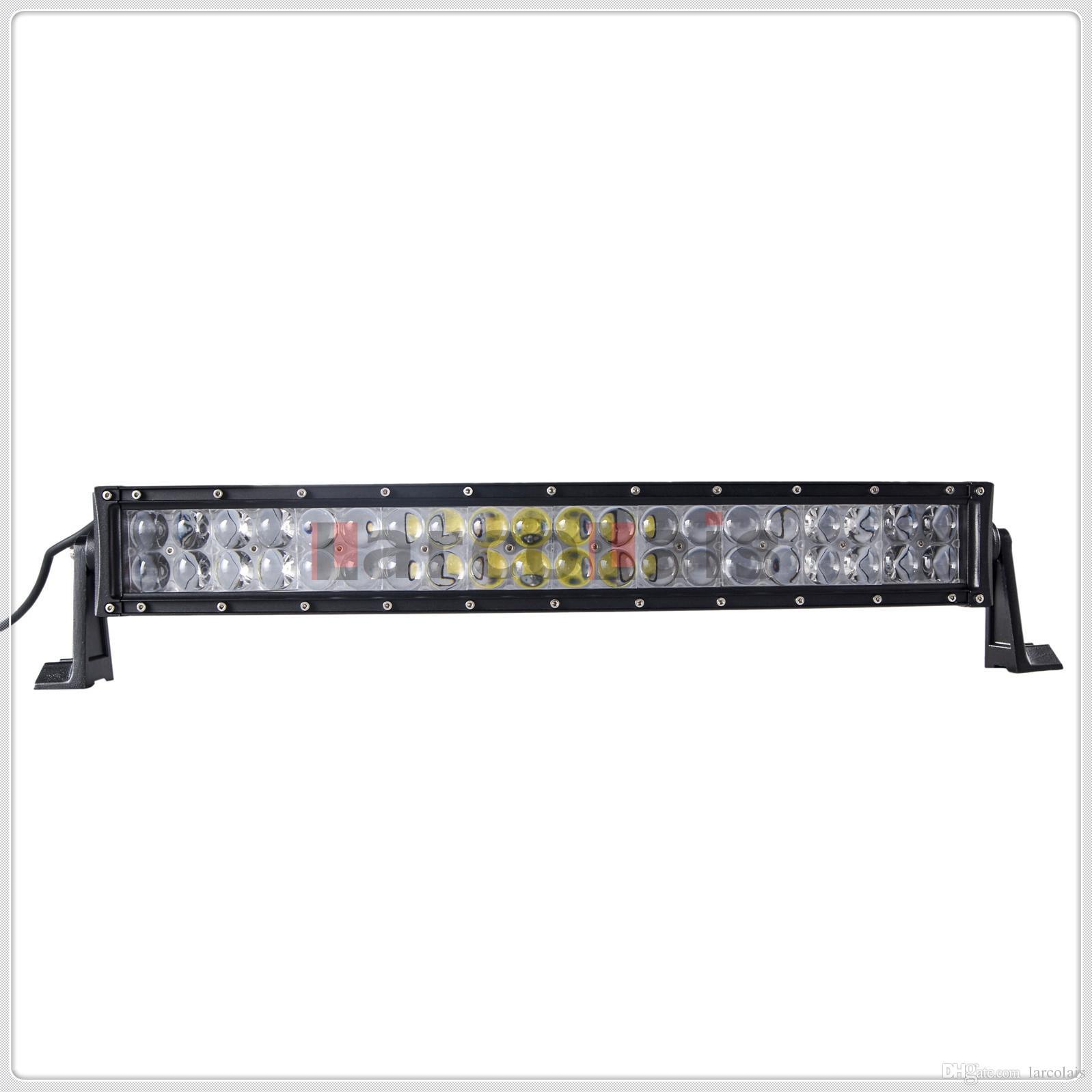 4D 22 inç 200 W Kavisli CREE LED İş Işık Bar için Traktör Tekne OffRoad 4WD 4x4 Kamyon SUV ATV Nokta Sel Combo Işın 12 V 24 v