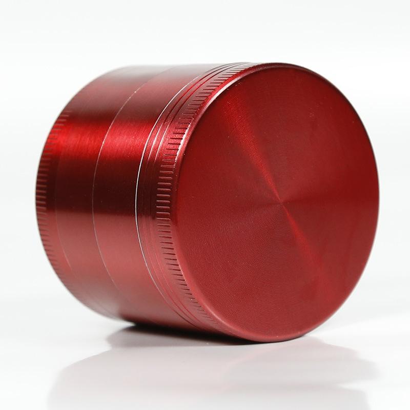 4 부품 담배 금속 그라인더 빠른 스미시 도구 크로 늄 크러셔 디아 40 / 50 / 55 / 63 / 75mm 하이 엔드 소매 포장 CNC 치아 필터 A001