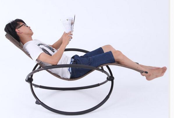 Rocking Chair. Lie Chair, Leisure Chair. The Balcony Folding Chair.