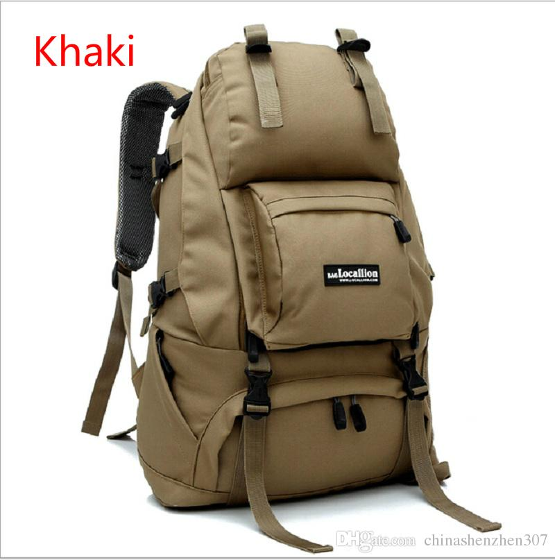 LOCAL LION 2016 Men's Nylon Travel Backpack Rucksack Outdoor Sport Hiking Camping Backpack Mountaineering Bag Tactical Backpack