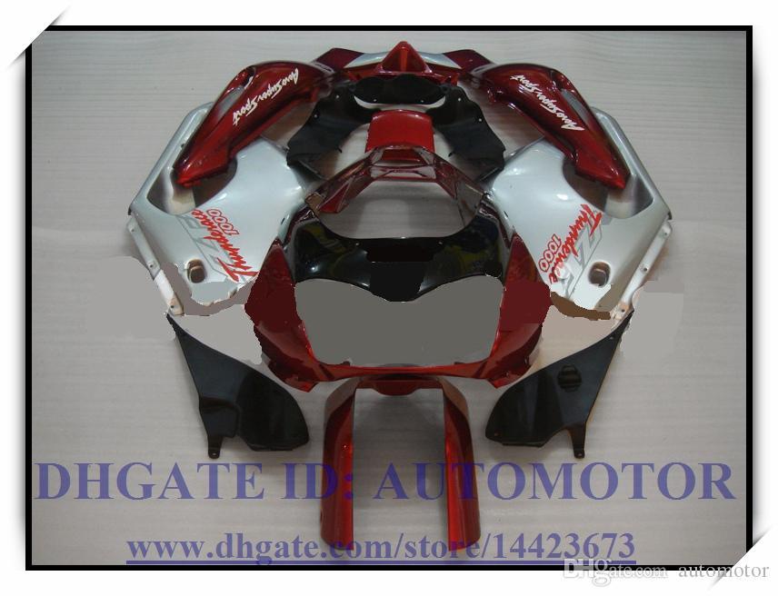Kit carena in ABS di alta qualità per YAMAHA YZF1000R 1996-2007 1997 1998 1999 2000 YZF 1000R 1996-2007 YZF1000R 96-07 # DX863 ROSSO