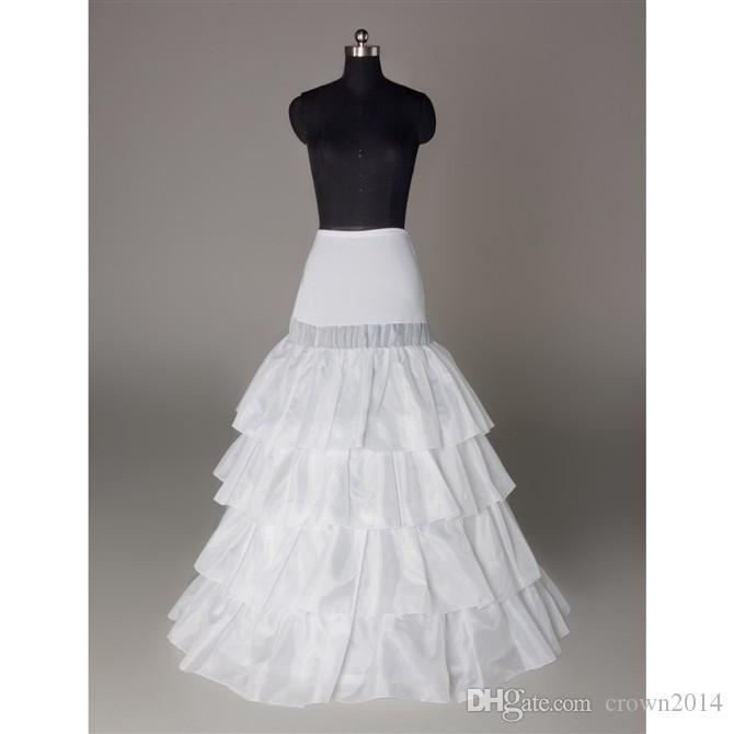 بالإضافة إلى حجم الزفاف الجلينول تنورة ثوب نسائي 3 هوب تنورات الكرة أثواب الزفاف اكسسوارات الزفاف جودة عالية عينة حقيقية في المخزون