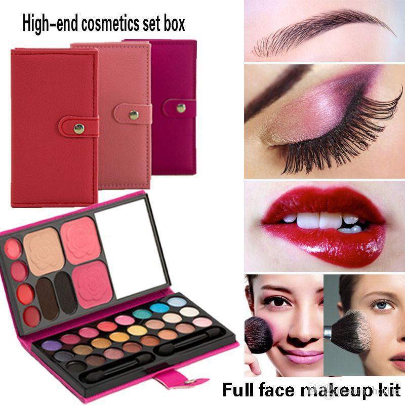 Eye Shadows 1 Blush 1 Lipstick Mirror