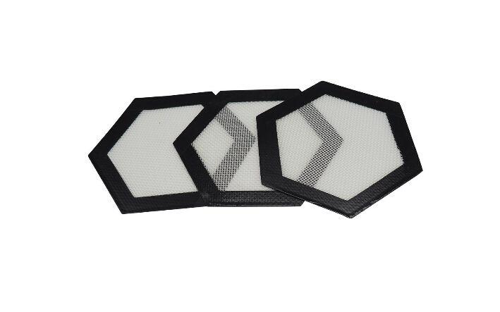 100 tapis de silicone antiadhésifs de silicone de fibre de verre, tapis de cuisson de silicium de cuisine