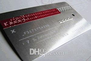 Großhandel Metall Kupfer Edelstahl Material Und China Regionale Feature Metall Visitenkarten Für Business Name Black Metal Karten Von Judy98