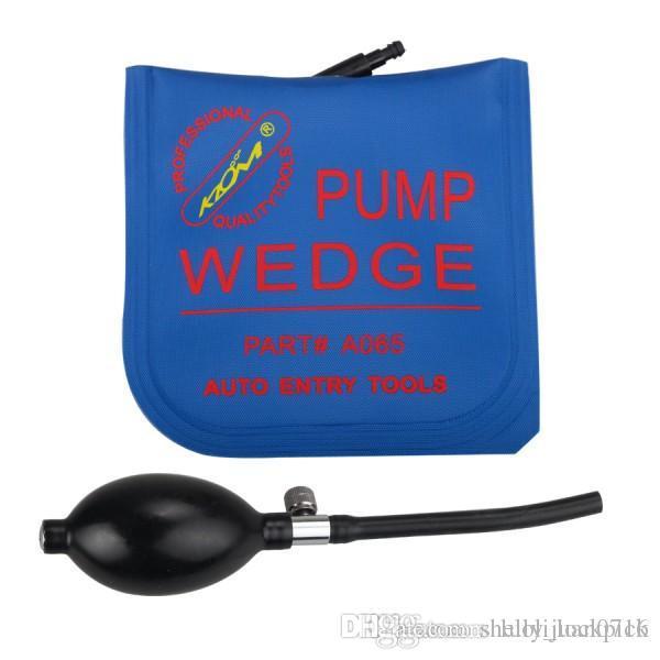 5 adet / grup KLOM Mavi Renk Orta Boy Hava yastığı Hava pompası kama Şişme hava kama 165 * 150mm