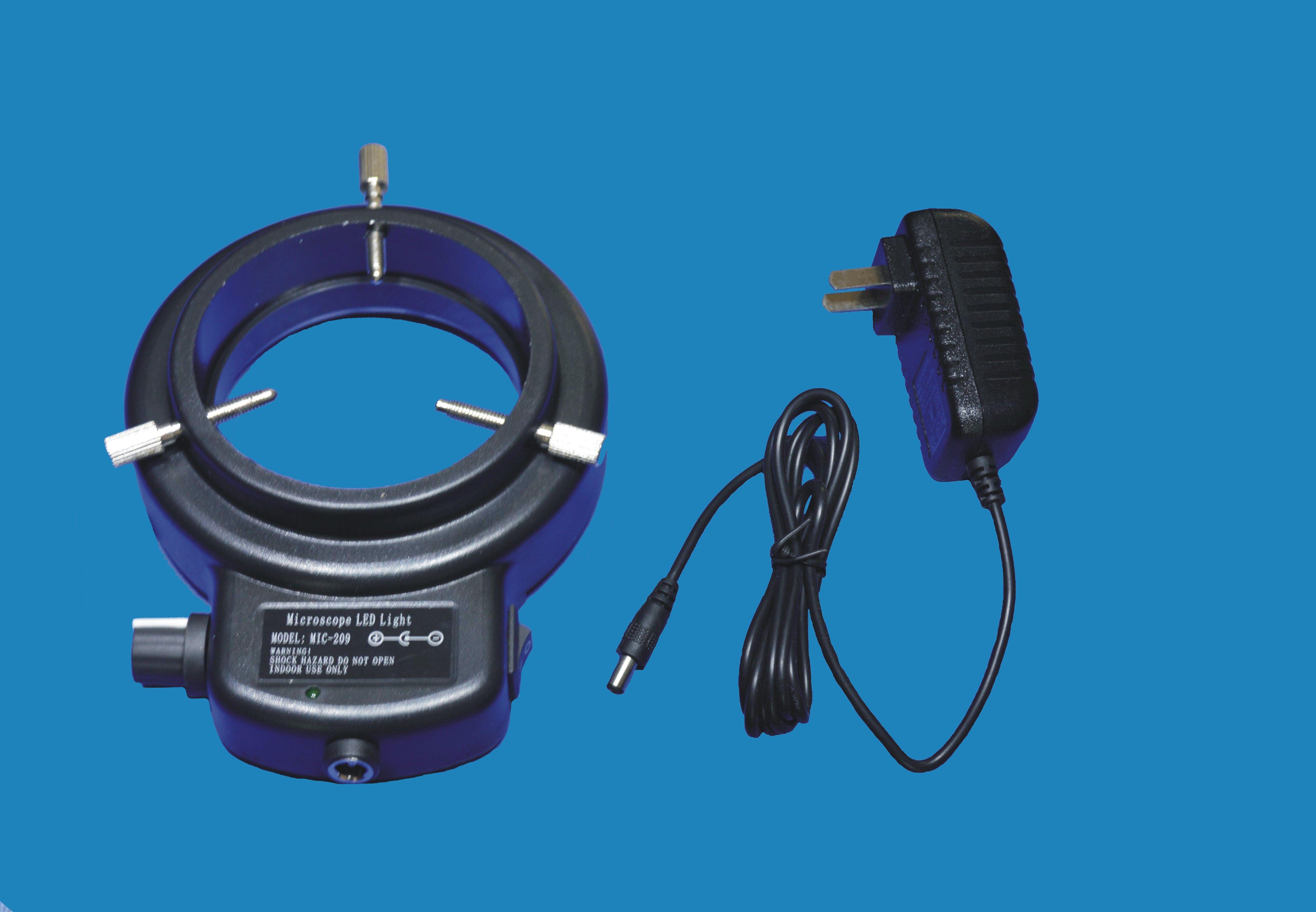 MIC-209 / 60LED حلقة مصدر الضوء