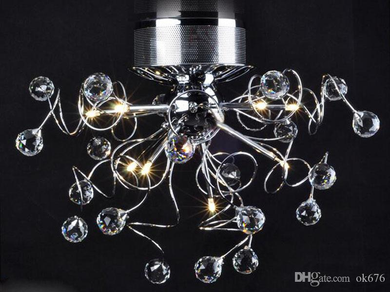 Kristall Led Kronleuchter ~ Großhandel moderne kristall led kronleuchter deckenleuchte