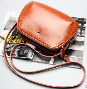 2016 new real leather bags. Fashion cow leather. Lady single shoulder bag. Leisure bag. Ladies handbag.Cross Body.