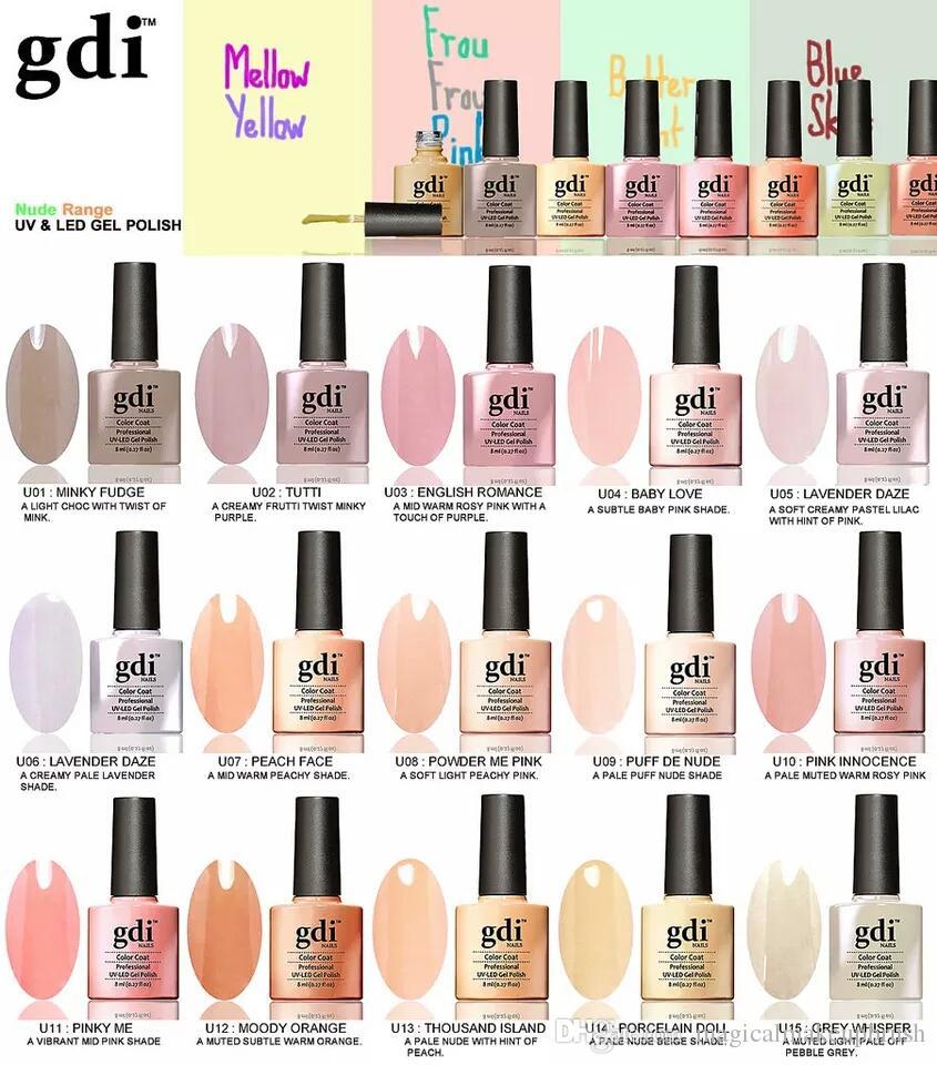 Professional Non Toxic Healthy Private Label Gdi Nails Nude Pastel ...