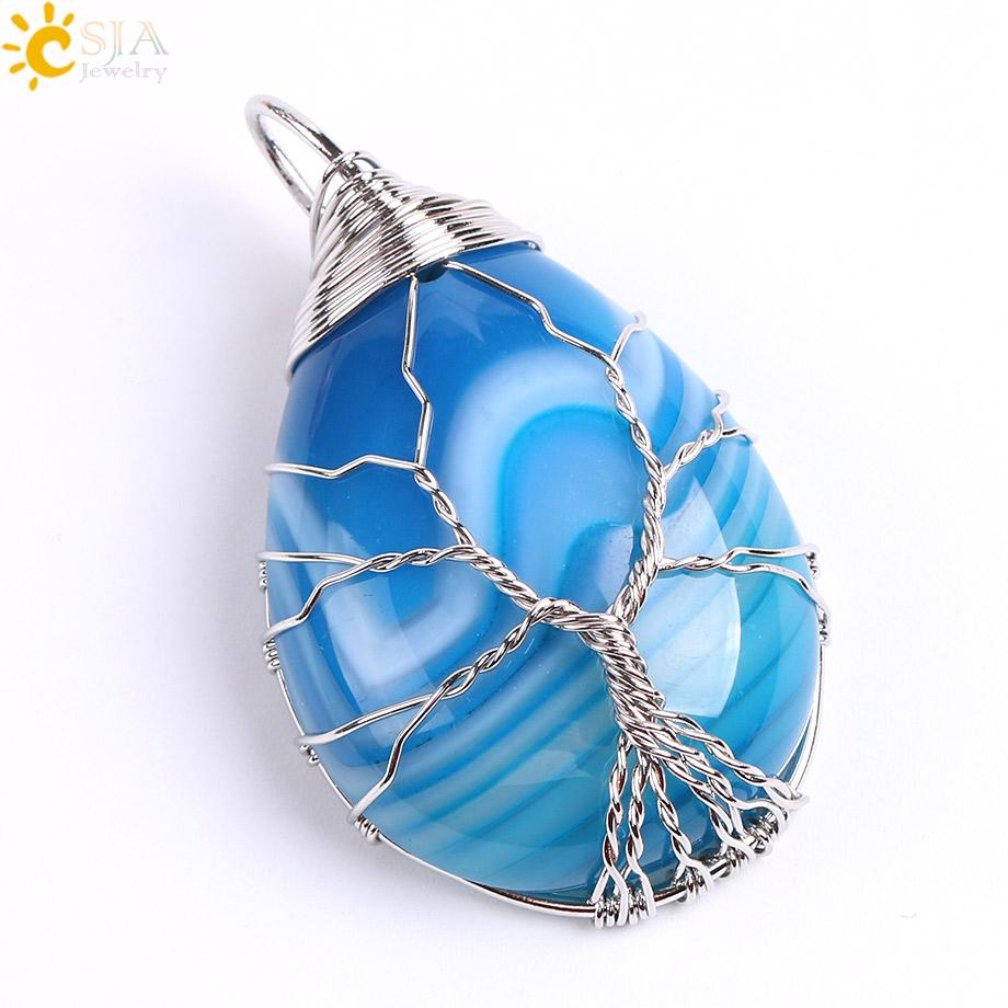 Blue Veins Agate C