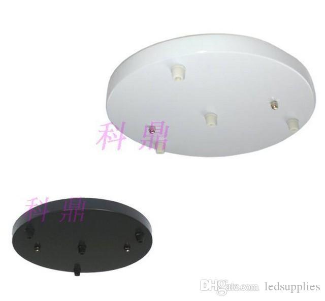 Diy sala de jantar luz pingente de teto disco lâmpadas de iluminação kit círculo 3 xícaras bacia