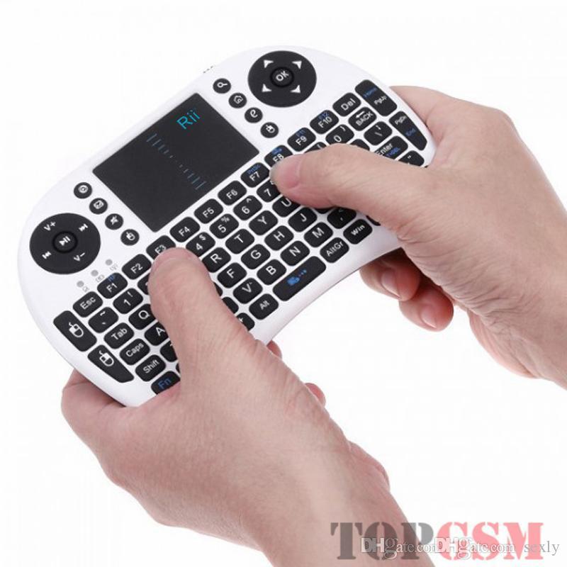 게임 미니 키보드 무선 I8 플라이 에어 마우스 멀티 미디어 원격 제어 터치 패드 핸드 헬드 TV 박스 안드로이드 미니 PC 패드 Xbox360 PS4 용