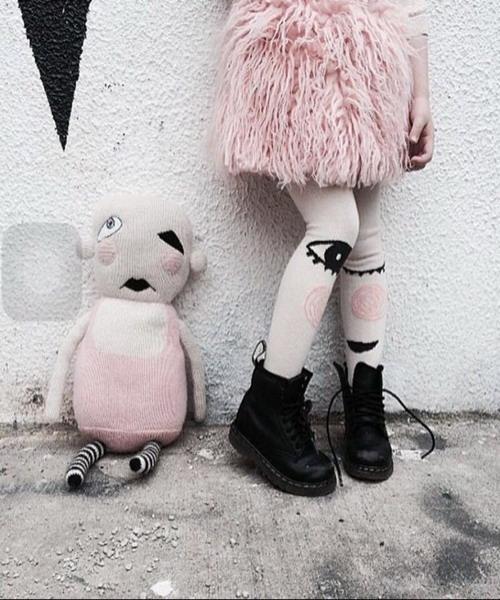 Collants Filles Mode Femmes Épais Collants Mignon de Bande Dessinée Lapin Amour Broderie Collants Minces Yeux Collants Render Coton Culotte Tuyau