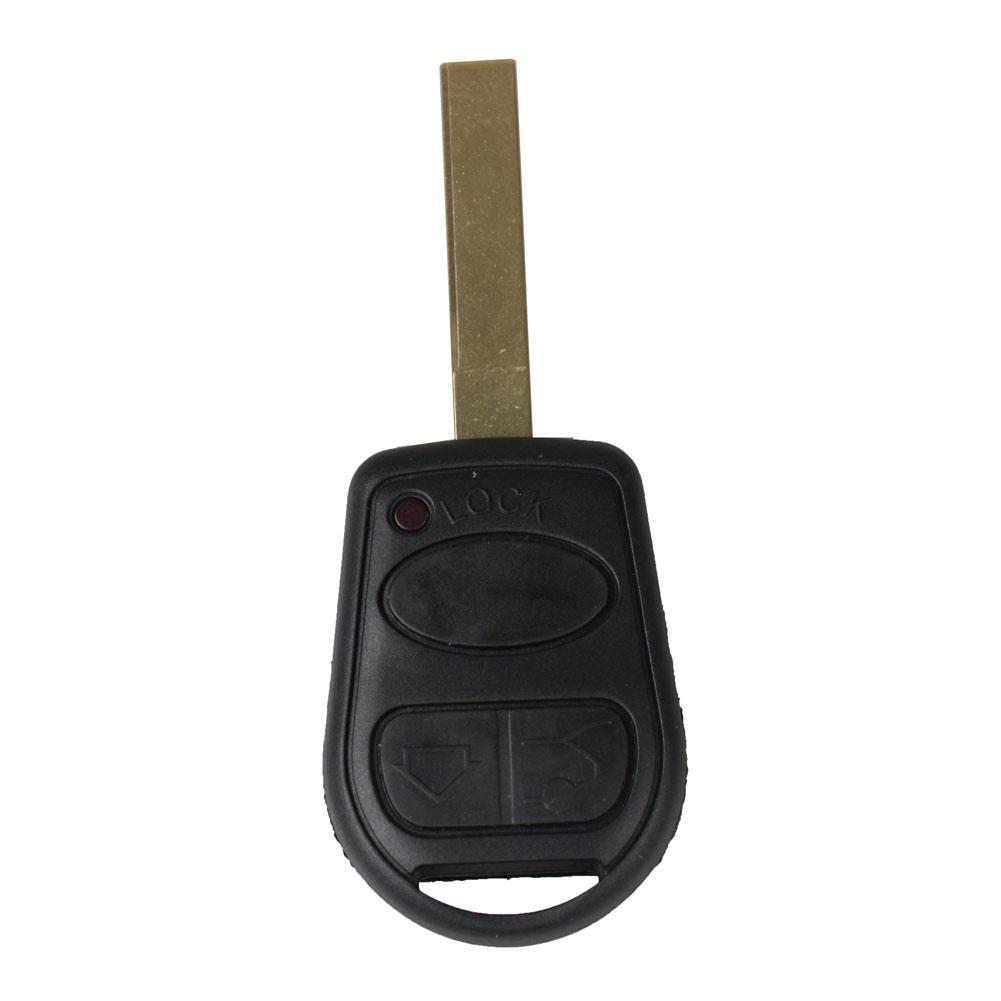 레인지 로버 L322 HSE Vogue 용 100 % 3 버튼 자동차 교체 키리스 원격 포브 키 쉘 케이스 키 보장