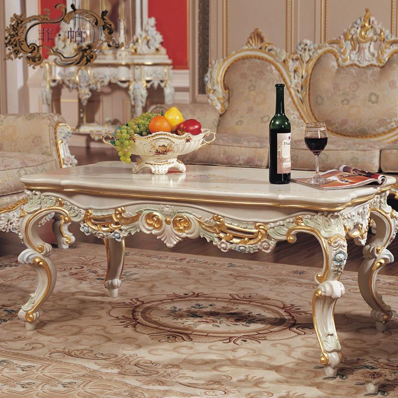 classic style furniture -solid wood table living room furniture