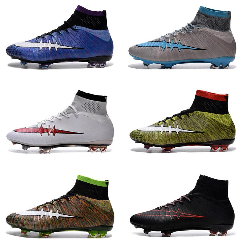 Soccer Shoes For Sale >> 2019 Mercurial Superfly Fg Mens Soccer Shoes Cheapest Soccer Boots Cleats Sale Assassin10 High Top Soccer Cleats Football Boots From Sportonlinestore