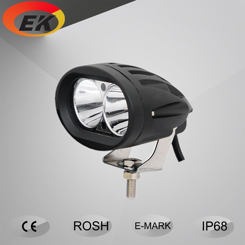 20W Oval Elliptic Blue spotlight LED Work Light 10w each super spot blue safety light for forklift