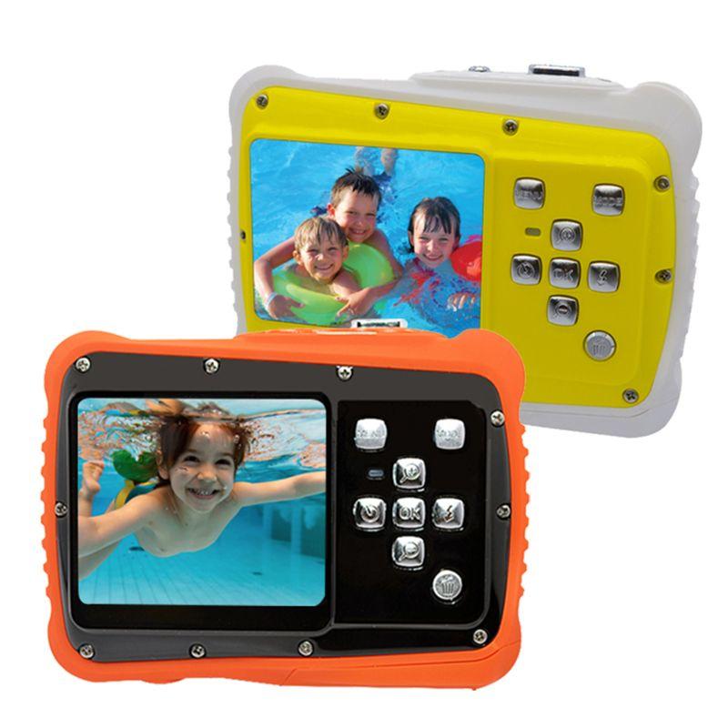 Waterproof 5MP 2.0 inch LCD HD Digital Camera Children Kids Birthday Gift Camera Sports Mini Camera For Children Swimming