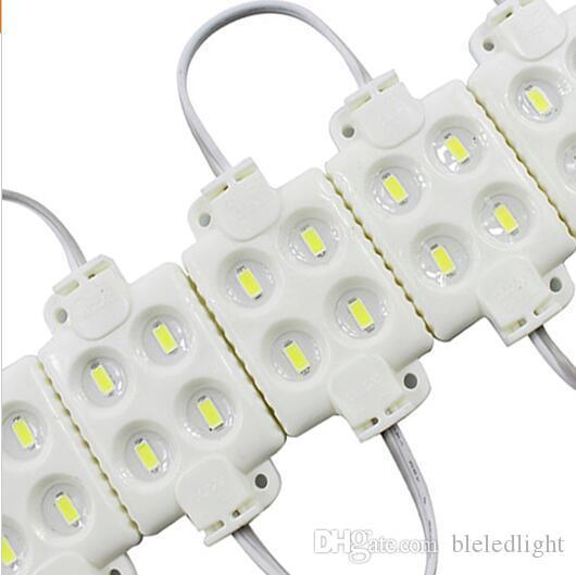 5730 4LED 사출 주도 모듈 12V 방수 IP65, 숍 배너 LED 로그인 백라이트 모듈, 광고 라이트 박스 모듈