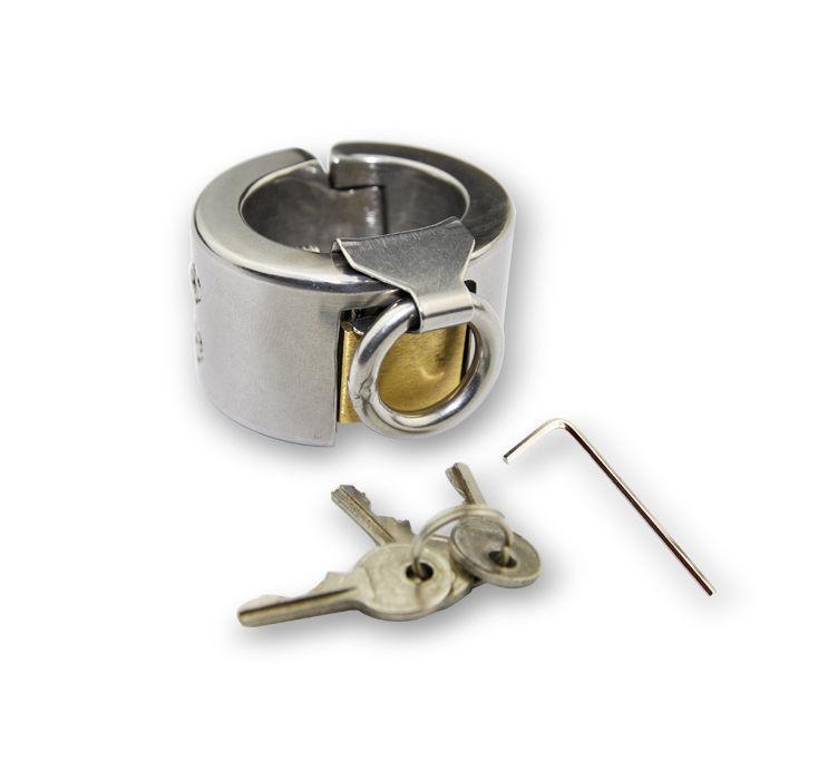 Stainless Steel Male Chastity Kali's Teeth Ring Device Men Bondage Fetish ZCS46 #R172