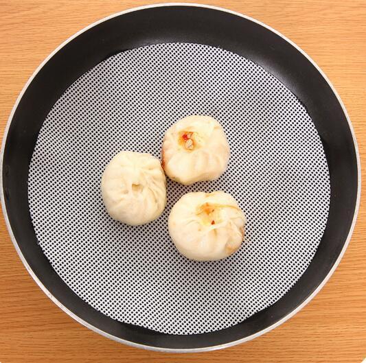패션 핫 24cm 라운드 실리콘 에코 - 친화적 인 기선 패드 찐된 박제 빵 빵 패드 가구 증기선 찐된 만두 매트