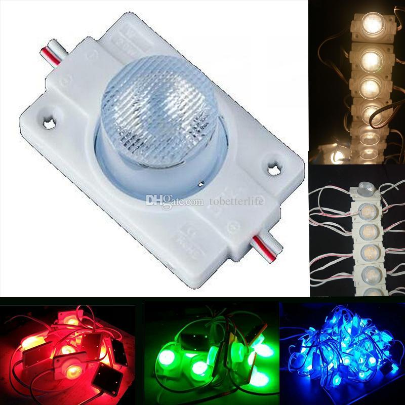 High Power 3030 LED-Modul-Licht mit Objektiv DC12V Seitenlicht LED-Modul für LED-Sign Light Box Kanal-Buchstaben 1.5W