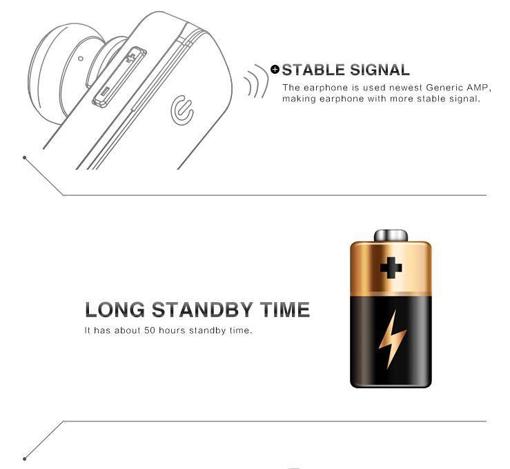 In Ear Headphones Bluetooth 100% Original Syllable D50 Bluetooth ...