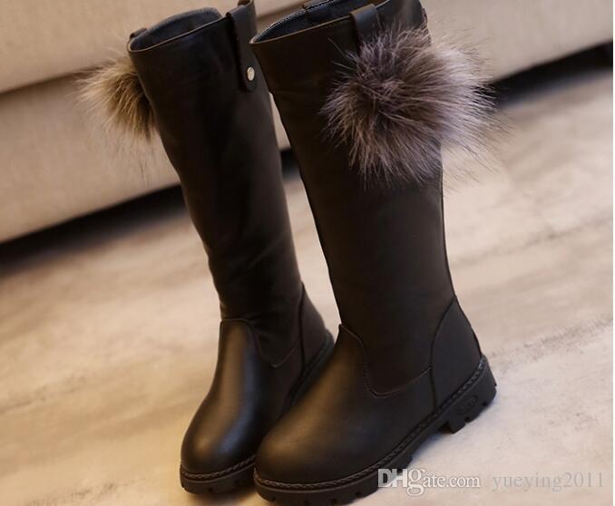 2018 Winter Girls Boots Kids Sonw Boots